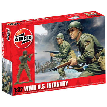 WWII US Infantry 1:32