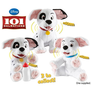 "AniPets 101 Dalmatians 6"" Plush"