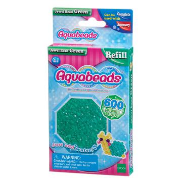 Green Jewel Bead Refill Pack