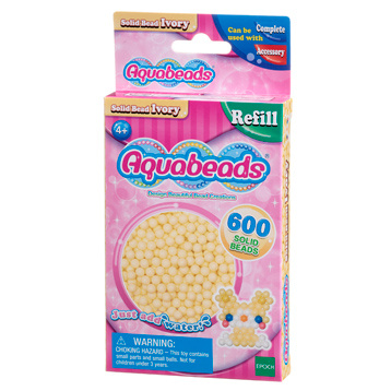 Ivory Bead Solid Refill Pack