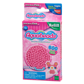 Pink Solid Bead Refill Pack