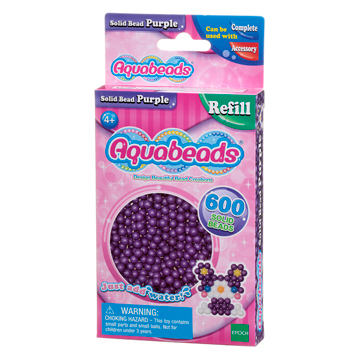 Purple Solid Bead Refill Pack