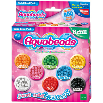 Solid Bead Refill 800 Bead Pack