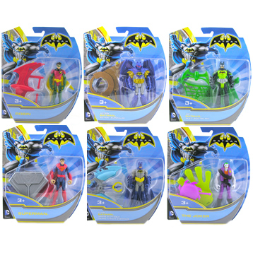 "Batman 4"" Figures"