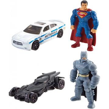 Batman V Superman Mini Figure & Vehicle