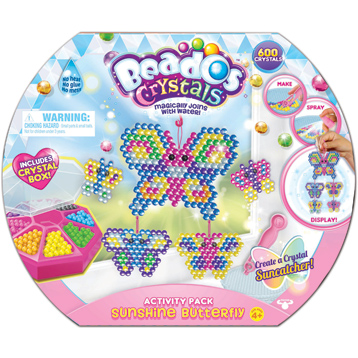 Crystals Activity Pack Sunshine Butterfly