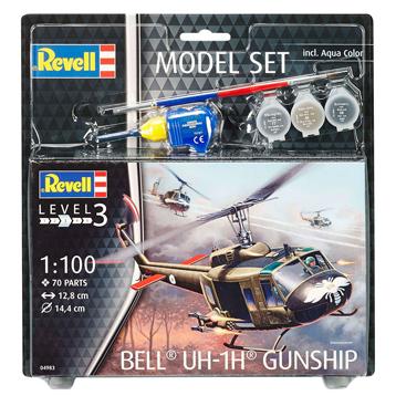 Bell UH-1H Gunship Model Set
