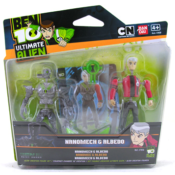 Ultimate Alien Creation Figure Set