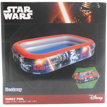 Bestway Star Wars Family Pool (2.62m x 1.75m x 51cm)