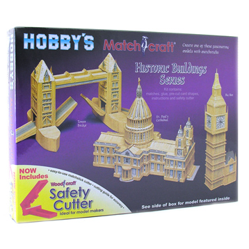 Big Ben Matchstick Model Kit