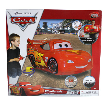Remote Control Inflatable Lightning McQueen