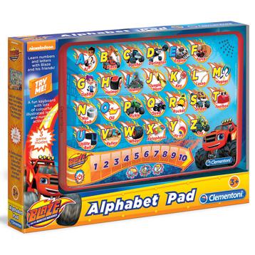 Blaze and The Monster Machines Alphabet Pad