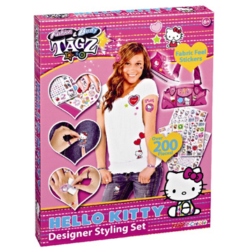 Fashion Tagz Hello Kitty Designer Styling Set