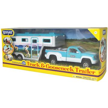 Truck & Gooseneck Trailer