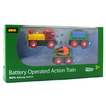 Battery operated Action Train Pack