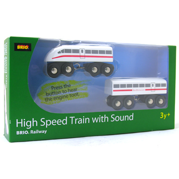 High Speed Train with Sound