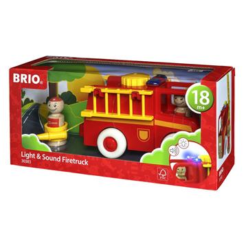 Light & Sound Fire Truck