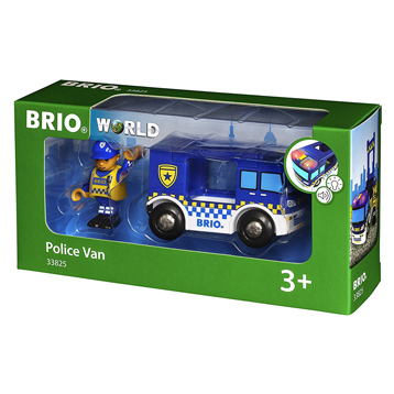 Lights & Sounds Police Van