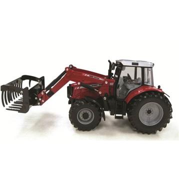 Massey Ferguson 6480 Tractor & Loader