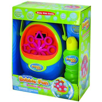Bubble Fun Bubble Machine with Solution
