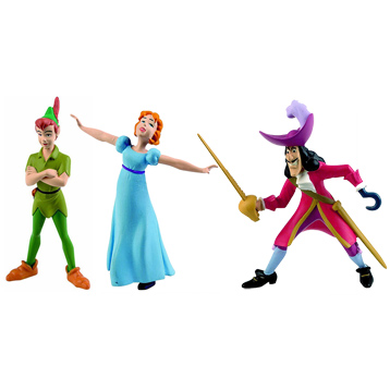 Disney Peter Pan Figures