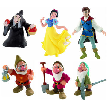 Snow White & the Seven Dwarfs Figures