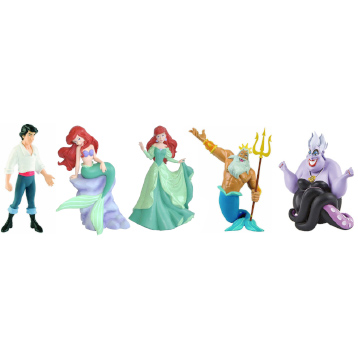 The Little Mermaid Figures