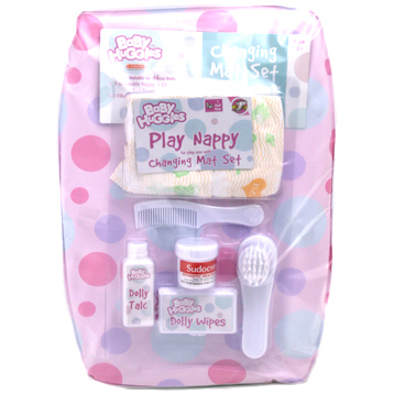 Baby Huggles Nappy & Changing Mat Set