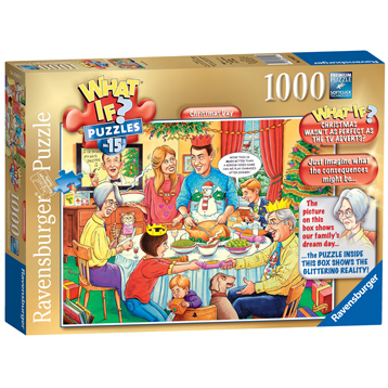 Ravensburger WHAT IF?No.15 Christmas Day 1000 Piece Jigsaw Puzzle