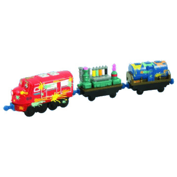 Chuggington Trains | Wilson & Paint Wagons Set