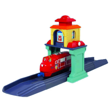 Chuggington Wilsons Departure Station Set