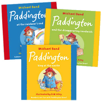 Classic Paddington Bear Activity Books