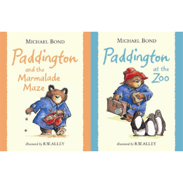 Classic Paddington Bear Book Assortment