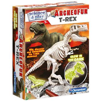 Archeofun Glow in The Dark T-Rex Excavation Kit