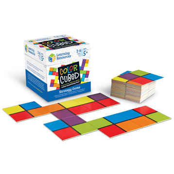 Colour Cubed Strategy Game