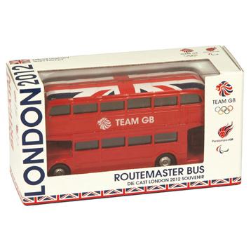 Team GB Classic Routemaster Bus