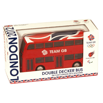 Team GB Modern Double Decker Bus