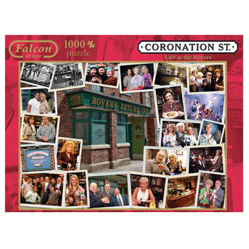 Coronation Street Life at the Rovers 1000 Piece