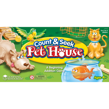 Count & Seek Pet House