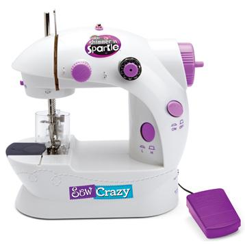 Cra-Z-Art Shimmer 'N Sparkle Sew Crazy Sewing Machine