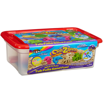 Cra-Z-Sand Mould 'N Play Tub Fulla Sand Fun
