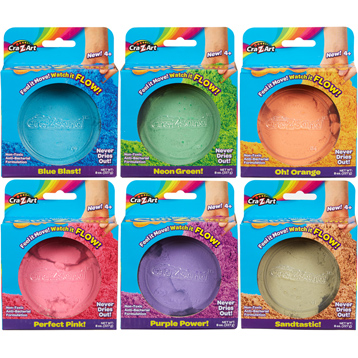 Cra-Z-Sand Single Colour 227g Pack
