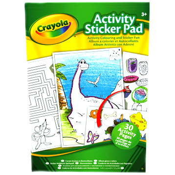 Activity 30 Page Sticker Pad