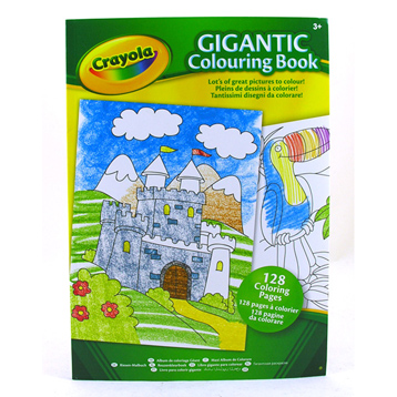 Gigantic Colouring Book