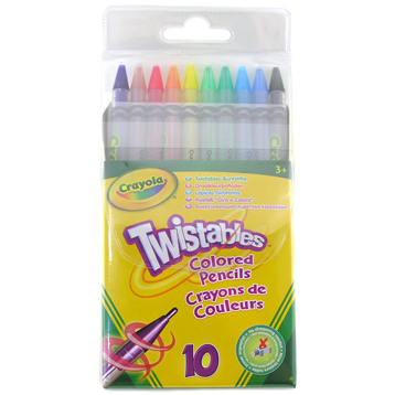 Twistable coloured Pencils