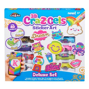 Craz-Z Gels Sticker Art Deluxe Set