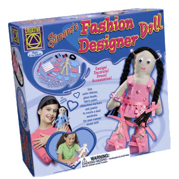 Simone's Fashion Designer Doll