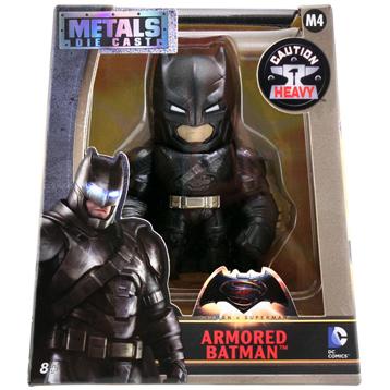 """Batman v Superman Armored Batman Metal Die Cast 4"""" Action Figure"""