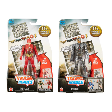 Justice League Talking Heroes Assorted
