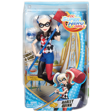 Super Hero Girls Harley Quinn Doll